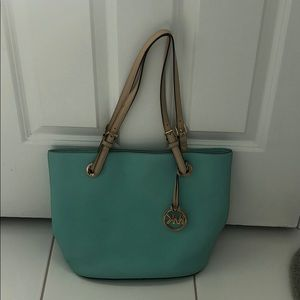 Mint Micheal Kors Bag